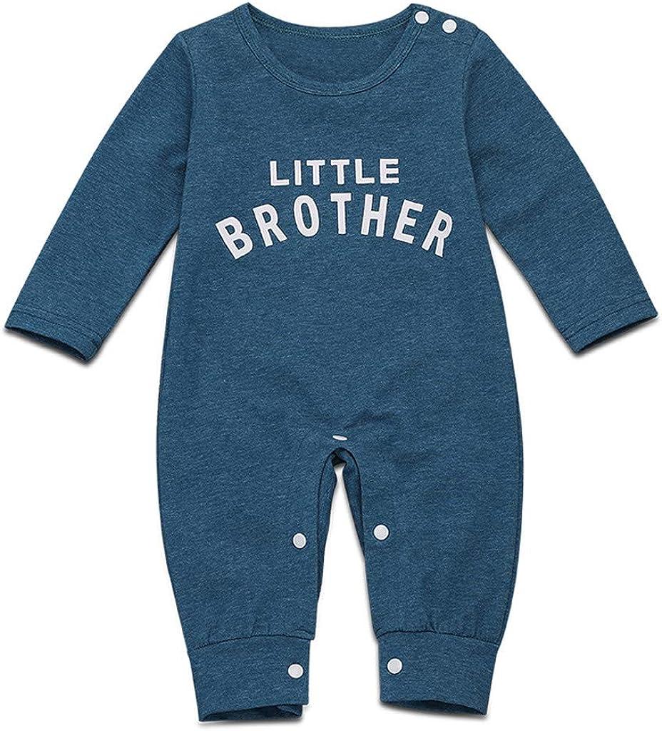 Baby Boys Romper/&Jumpsuit Pronotion Sale Newborn Infant Baby Girls Boys Long Sleeve Solid Romper Soft Bodysuit Clothes Jumpsuit Pajamas 0-36 Months