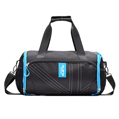 c54fd9413c6c9 snfgoij Sporttaschen Herren Sporttasche Reisetasche Handtasche Leichte  Unabhängige Schuhposition Diagonale Drum Bag  Amazon.de  Bekleidung