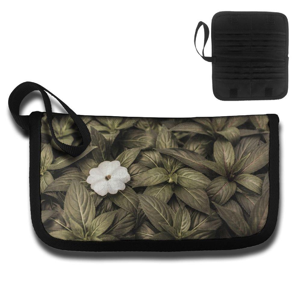 Gili A Flower In A Greenery Travel Passport /& Document Organizer Zipper Case