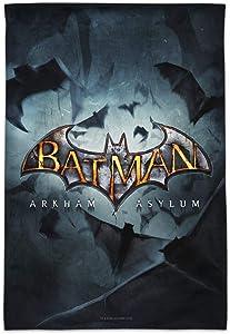GRAPHICS & MORE Batman Arkham Asylum Video Game Logo Garden Yard Flag