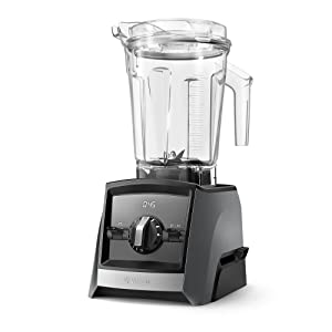 Vitamix A2500 Ascent Series Smart Blender, Professional-Grade, 64 oz. Low-Profile Container, Slate