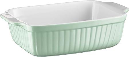 ideale anche per lasagne M/äser 931485 in ceramica Pirofila rettangolare serie Kitchen Time come piccolo stampo per dolci e tiramisu antigraffio e anti-taglio