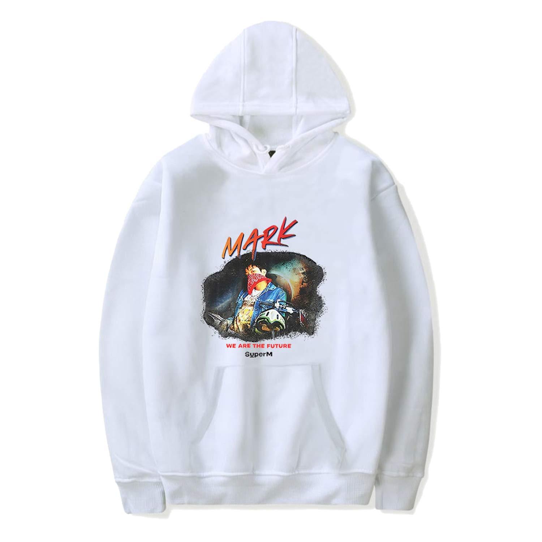 Kpop SuperM Portrait Hoodie Mark Lucas Kai Ten Taeyong Taemin Baekhyun Sweater