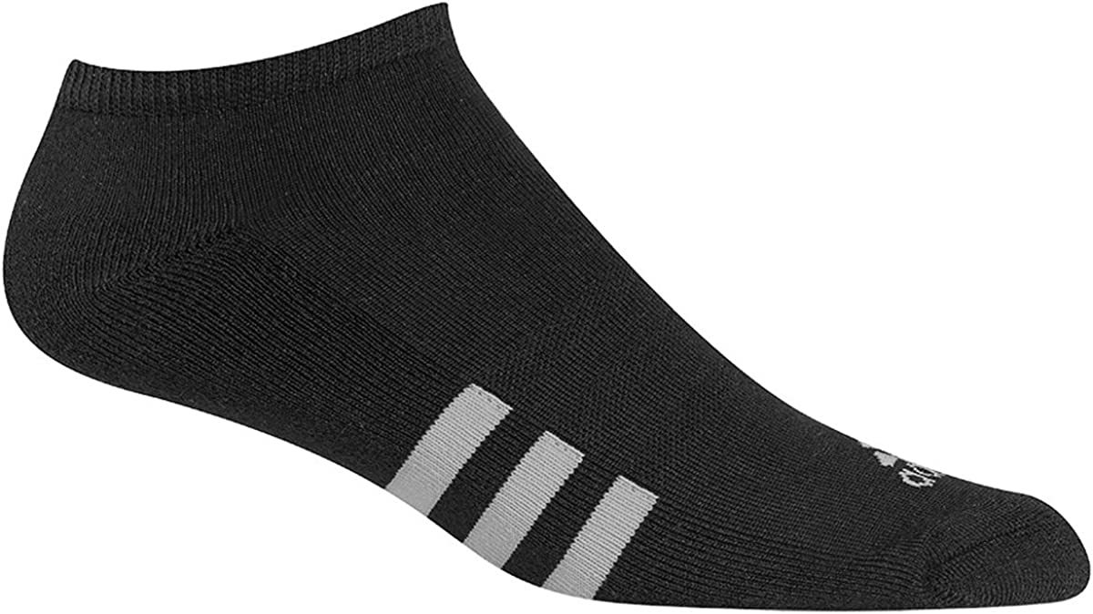3 Pack Large,... adidas Men/'s Originals Cushioned No Show Sock