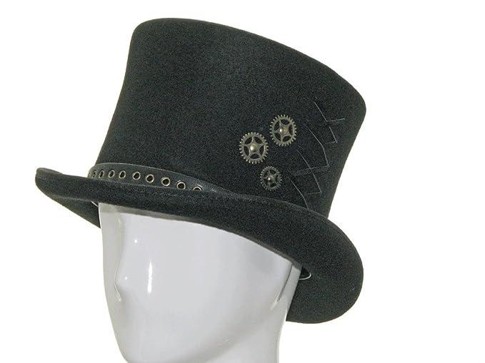 8 Classic Vintage Halloween Costumes ASTRO HATTER Victorian Black Linnig Top Hat $83.70 AT vintagedancer.com