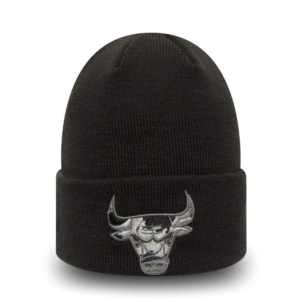 New Era Strick Beanie Kinder Winterm/ütze Chicago Bulls