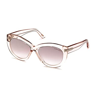 10f9228800 Image Unavailable. Image not available for. Color  Sunglasses Tom Ford FT  0577 Diane- 02 72Z shiny pink ...