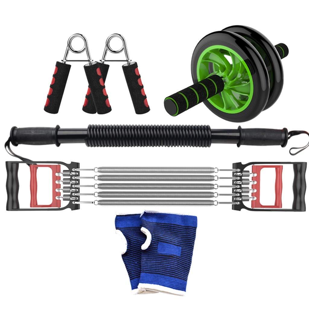 家庭用フィットネス機器、多機能トレーニングセットメンズチェストエキスパンダースポーツ用品ムーブメントアームバープーラーストレングストレーニング 40KG C B07HFC6KL4