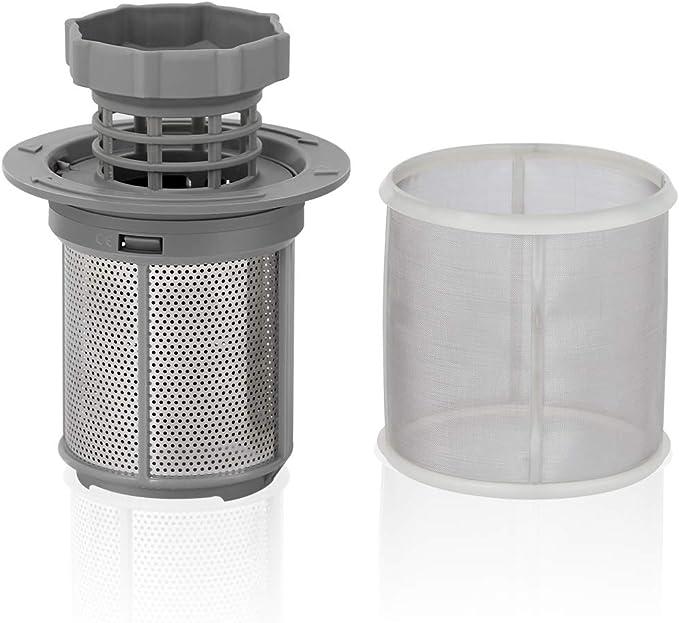 AIEVE Micro Filter Siebfilter Mesh Microfilter Ersatzfilter Mikrosieb Sieb Set f/ür Bosch Neff Siemens Sp/ülmaschine Geschirrsp/üler Geschirrsp/ülmaschine #427903