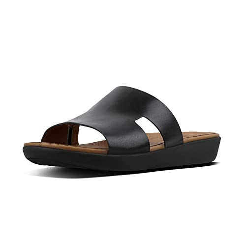 b60f1aaa4df Fitflop H-Bar Slide Leather Sandals  Amazon.co.uk  Shoes   Bags