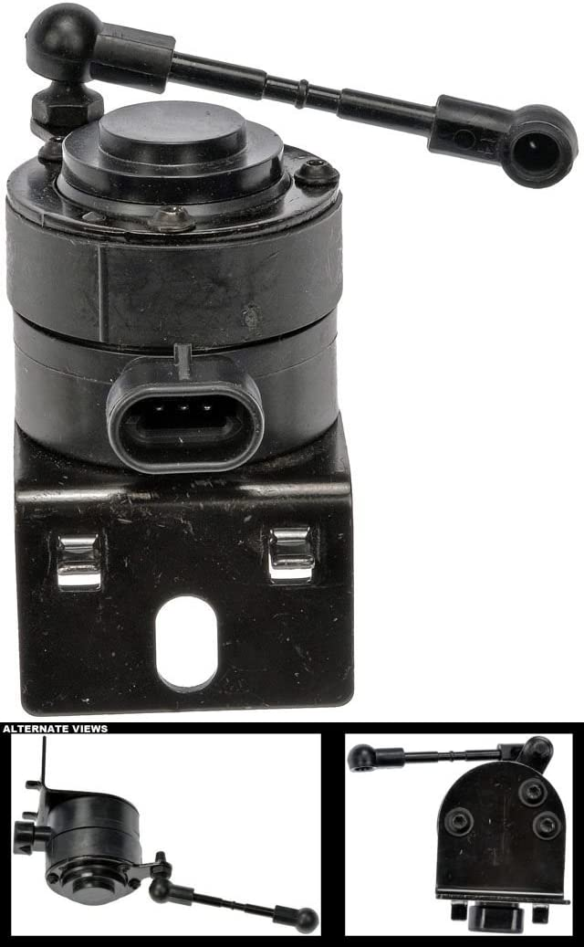 APDTY 120157 Suspension Ride Height Sensor Fits Front Right 2004-2009 Cadillac XLR 2005-2013 Chevrolet Corvette Front Passenger-Side; Stability Control Turn Rate Sensor; Replaces 89047643