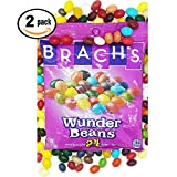 Brachs Wunder Beans Jelly Beans Pack of Two 7oz Bags in 24 Unique Flavors