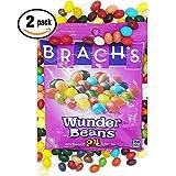 Brachs Wunder Beans Jelly Beans 2pack 7oz ea, 24 Unique Flavors