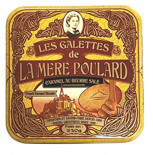 La Mere Poulard Galettes Caramel Biscuits, 8.82 Ounce