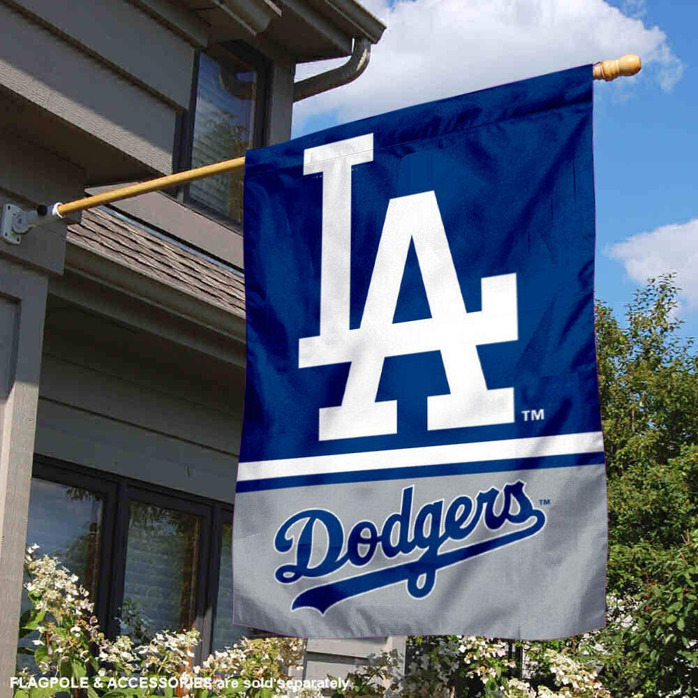 Wincraft Los Angeles Dodgers Double Sided House Flag