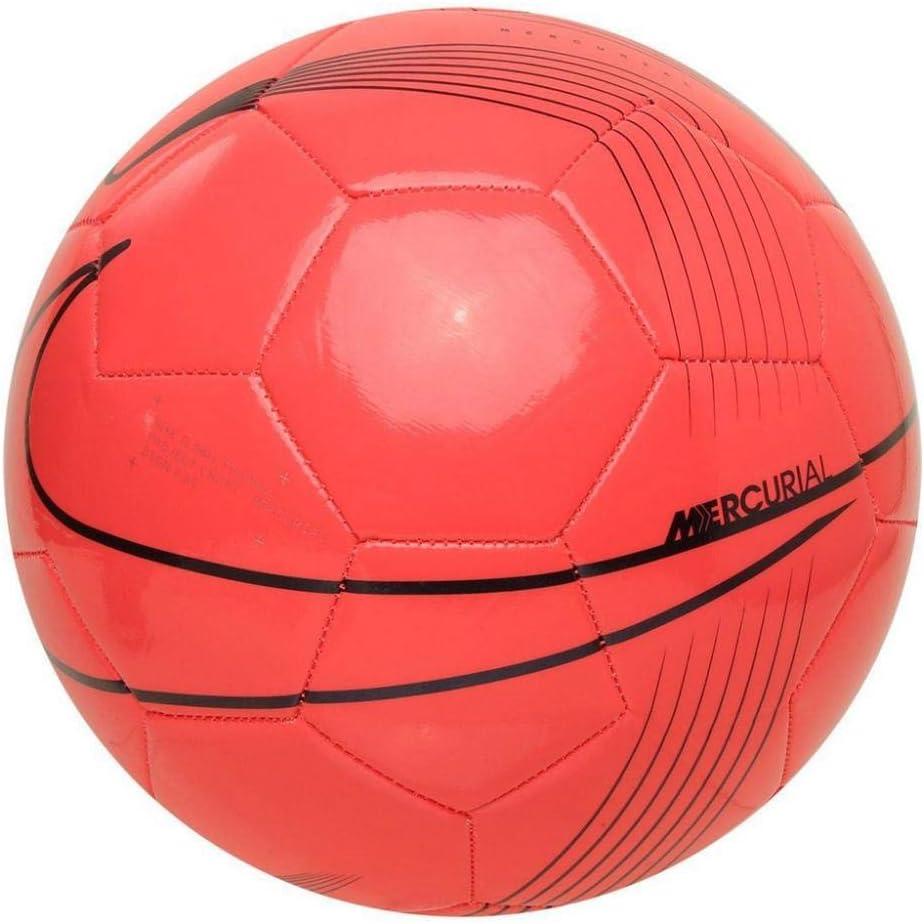 Nike Mercurial Fade Laser Crimson//Black//Black Pallone da Calcio Unisex Adulto 5