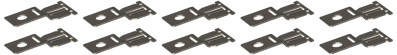 10 Piece HELLA H84489001 Metal Bracket for 280 Relay