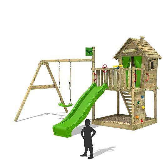 6 opinioni per FATMOOSE Torre gioco DonkeyDome Double XXL La casa sull'albero torretta di