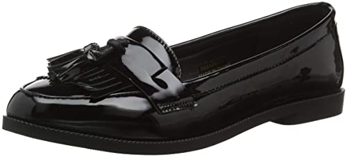 New Look Kairy 3, Mocasines para Mujer, Negro (Black 01), 36 EU: Amazon.es: Zapatos y complementos