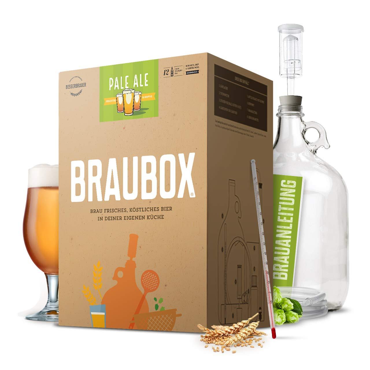 Braubox®, SortePale Ale | Bierbrauset zum Bier brauen in der Küche | mit Erfolgsgarantie von Besserbrauer Braubox®