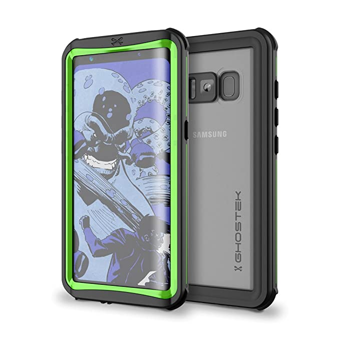 hot sale online e843a f5036 Galaxy S8 Plus Waterproof Case, Ghostek Nautical Series for Samsung Galaxy  S8+ | Slim Underwater Full Body Protection Shockproof Dirtproof Snow-proof  ...