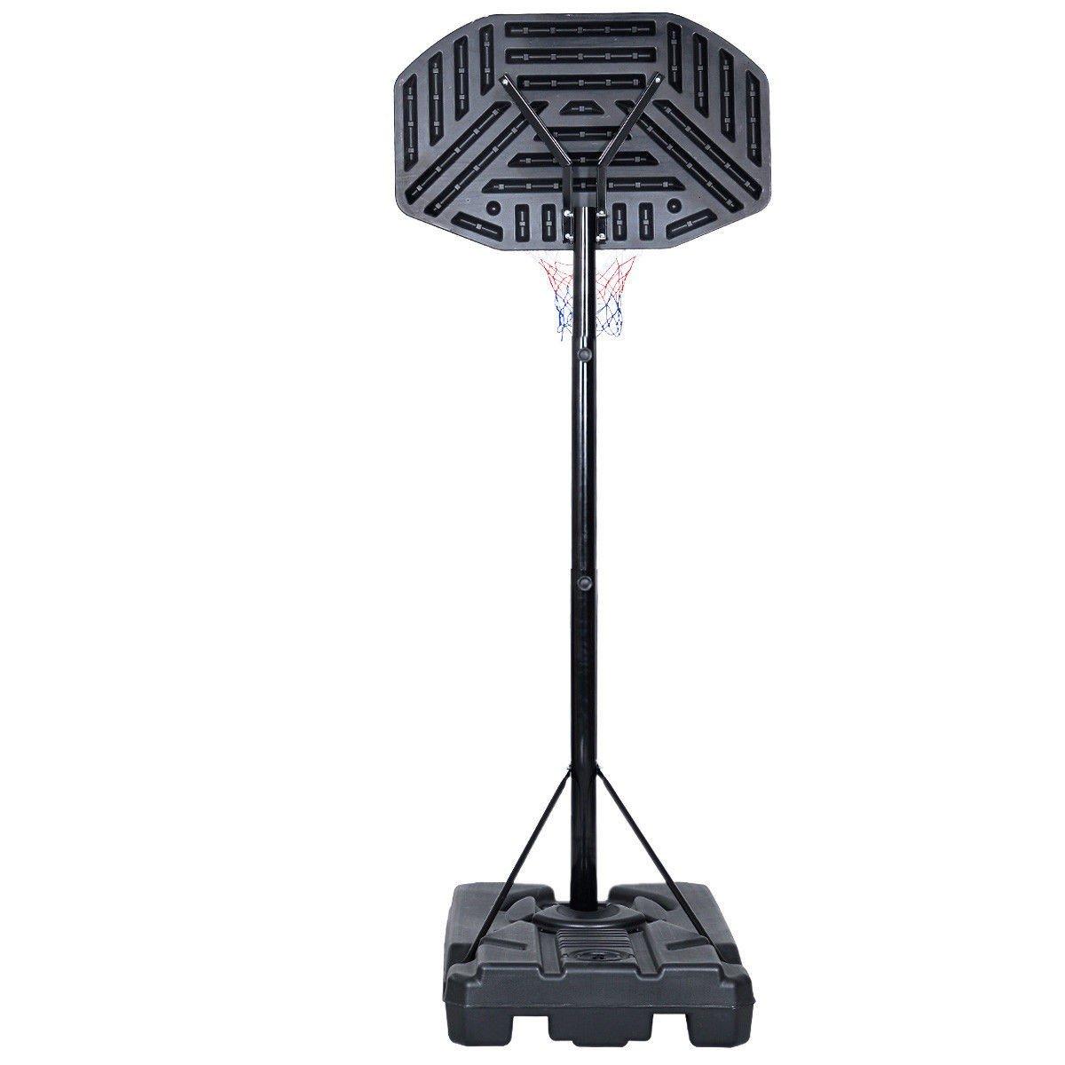 USA_BEST_SELLER Indoor Outdoor Adjustable Height Basketball Hoop Backboard with Wheels by USA_BEST_SELLER (Image #3)