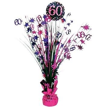 Feste Feiern Geburtstagsdeko Zum 60 Geburtstag I 1 Teil Tischkaskade