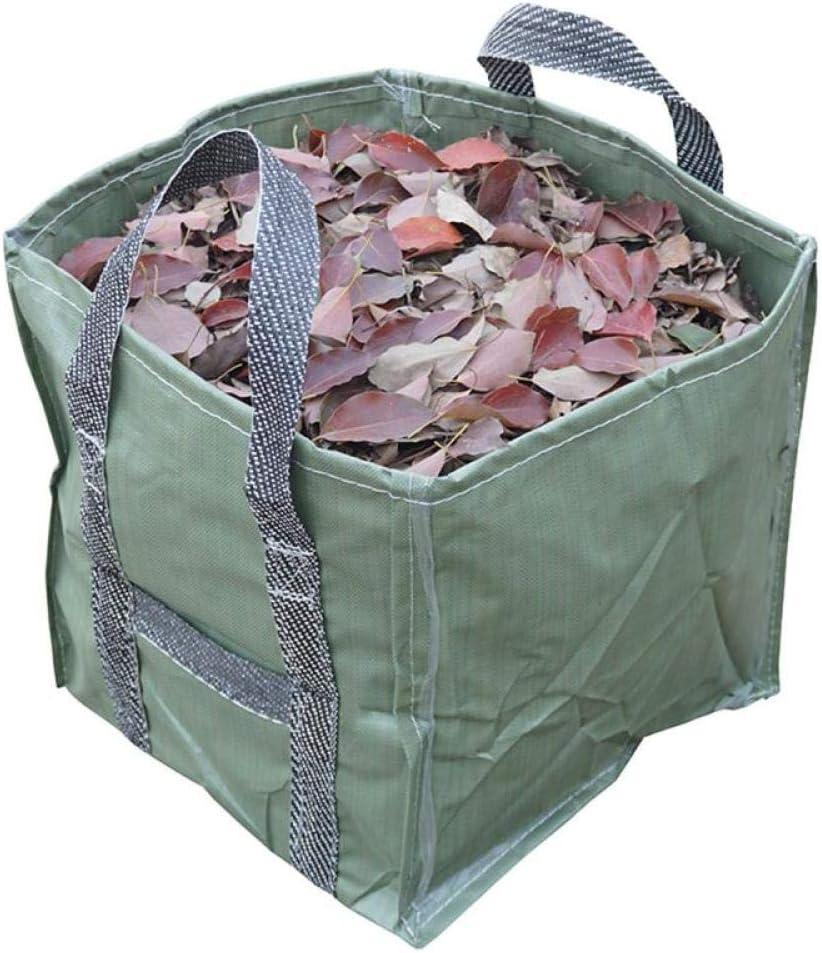 Bolsa De Hojas De Jardín Reutilizable 252L Contenedor De Jardinería Plegable Reutilizable con Asas para Desechos De Jardín