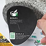 ChefSofi Mortar and Pestle Set - 6 Inch - 2 Cup Capacity - Unpolished Heavy Granite for Enhanced Performance and Organic Appearance - INCLUDED: Anti-Scratch Protector + Italian Recipes EBook 12 A kitchen must-have: Mortar and pestle set (mortero de cocina - morter and pessel - molcajete or guacamole bowl and pestel) has been used for THOUSANDS of years as THE way to crush, grind and powder herbs and dry spices. Contrary to an electric grinder or crusher, the age-old, durable, traditional manual grinding method ensures that all cooking ingredients bring out their full flavor and aroma profiles, allowing you to further control their texture and make delicious, chunk-free dishes. Versatile tool: Take advantage of your brand new stone motar and pedestal set's various applications in the kitchen and simplify your everyday life! Use your mortor to pulverize nuts, seeds, ginger root and garlic and make homemade salad dressing, sauces and condiments, such as fresh mustard, quacamole, pesto, salsa, chutneys and more. Widely used in pharmacies and apothecaries, your molcajete set will help you powder pills, for optimal ingestion, or hide them in your stubborn pet's kibble! Effortless use: This ChefSofi stone mocajetes motor & pedestal set was designed with your convenience in mind. Made from unpolished granite, you will waste no time fumbling or stabilizing your pestal masher, as our motar's cup interior provides the best, metate-like natural friction for swift ingredient crushing, grinding or powdering. With a 500 ml (approx. 2 Cup) capacity, this stone mortor also reduces the need for ingredient refills, affording quick food prep, in one go!