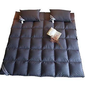 QWERTYUI Down Gruesas Colchón Tatami, Hotel Plegable Primeros del colchón Dormitorio Cálido Protectores de colchón de Cama Cubierta-A 200x200cm(79x79inch): ...