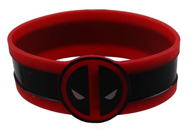 Amazon.com: Marvel Comics Extreme Deadpool Cara pulsera de ...