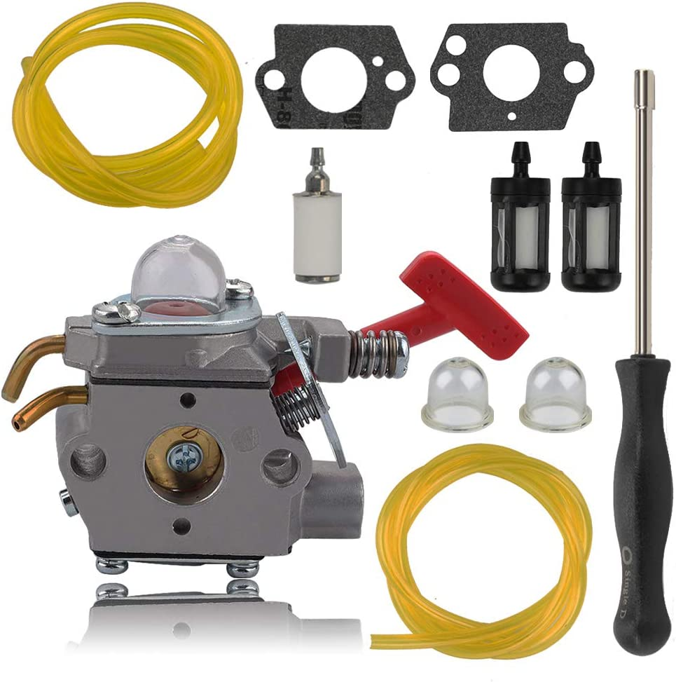 Alibrelo WT-458 Carburetor for Walbro WT-220 WT-318 WT-318X WT-165 WT-71C WT-220X WT-476-1 WT-476 WT-458-1 A07139 07376 UP04636 06597 A03003 A03002 07256B Ultra 25CC A04445A String Trimmers