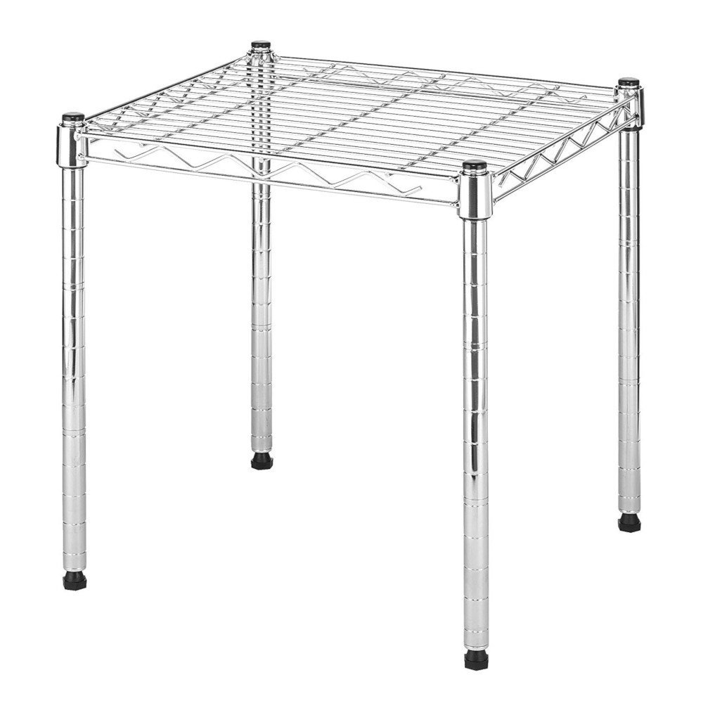 STS SUPPLIES LTD Spacemaker Shelf DVD Stackable Storage Rack Book Organizer CD Tower Wire Tool Steady Corner Floor Garage Stand Shelving Portable Unit & Ebook by AllTim3Shopping.