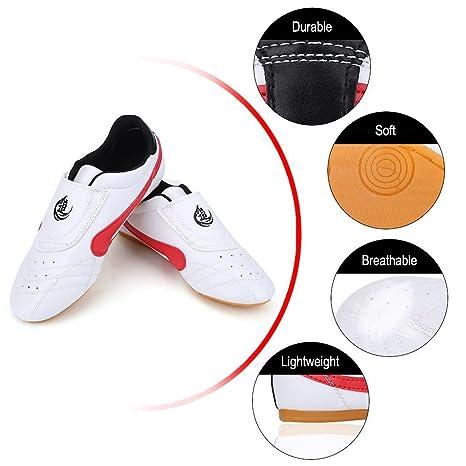 hot sale online 707f7 2af4e Scarpe Taekwondo Unisex Arti Marziali Sneaker Kung Fu Karate Boxe Sport Gym  Trainning Scarpe Leggero Scarpe