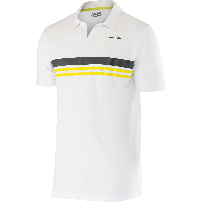 Head Adam Polo camisa para hombre de manga corta de deporte Polo ...