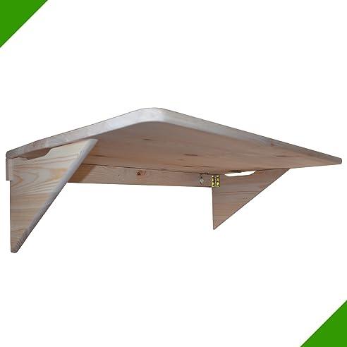 100 cm x 50 cm tisch klapptisch holztisch wandklapptisch klappbar - Klappbarer Esstisch Fr Wenig Platz
