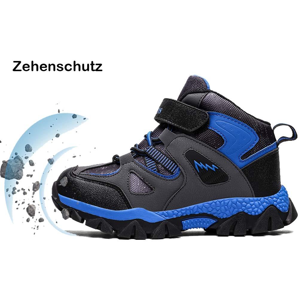 AFFINEST Kinder Winterschuhe Jungen M/ädchen rutschfest Trekking Wanderschuhe Schneestiefel Warm Gef/üttert Sneaker