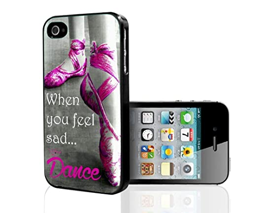Turbo Delivery LLC - Ballerina Dancing in Pink Ballet Shoes-Rubber Case for New Apple