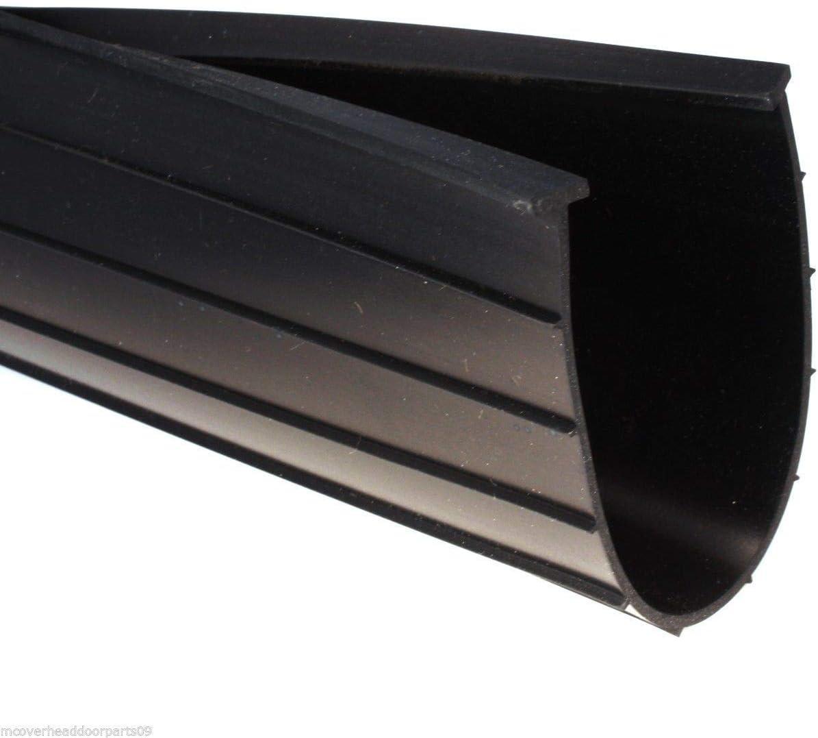 6 T-Style Garage Door Bottom Weather Seal 17 Wide Door Heavy Duty Rubber with 5//16 T
