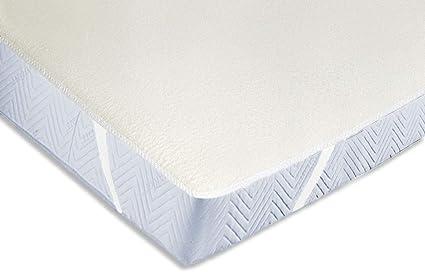 Zollner Protector de colchón de algodón cama 90, 90x200 cm, varias medidas