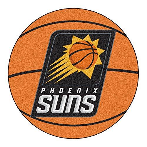 Phoenix Suns Rug - FANMATS NBA Phoenix Suns Nylon Face Basketball Rug