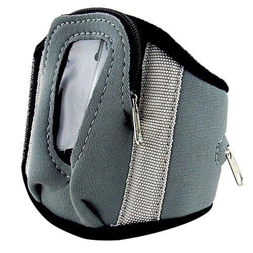 Arm Band Flip Phone Carrier with Money Pocket - Exercise, Jogging, Walking, Biking #K9100.