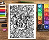 An Inspirational Colouring Book For Everyone: Be