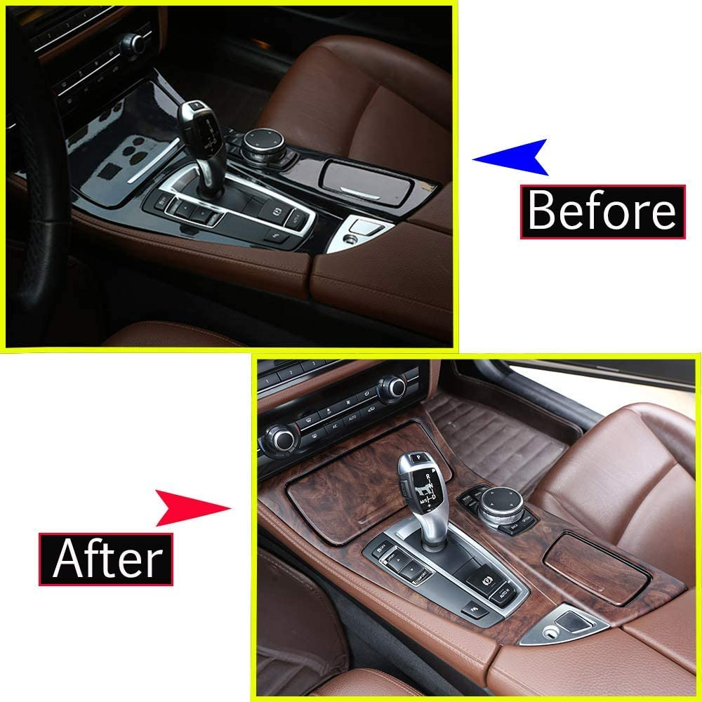 YIWANG ABS Chrome Center Console VolumeDecoration Frame Trim For 3 Series G20 G28 2019 2020 Car Accessories