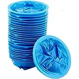 Zcoins 25pcs Disposable Vomit Bag Medical Sick Bag Travel Sickness Emergency Emesis Bags Blue