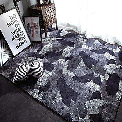 YJBear Modern European Style Print Floor Mat Coral Fleece Home Decor Carpet Indoor Outdoor Area Rug Rectangle Doormat Kitchen Floor Runner