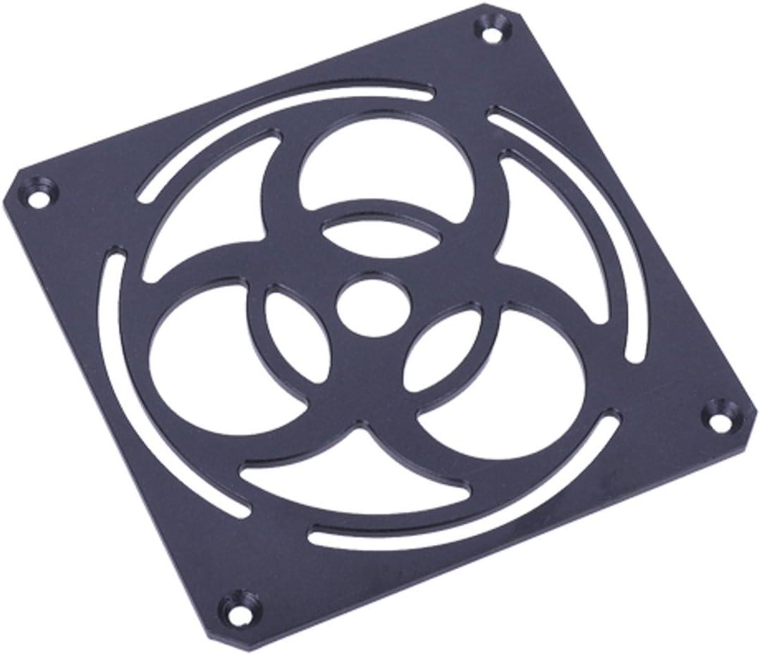 Black Phobya Biohazard 120mm Fan Grill Massive 4mm Thick