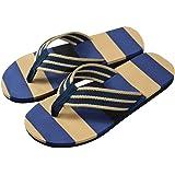morecome Male Slipper, Men Summer Stripe Flip Flops Shoes Sandals