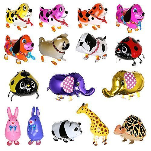 Treasure-House 10 pcs Animal Globos - Juego de globos para ...