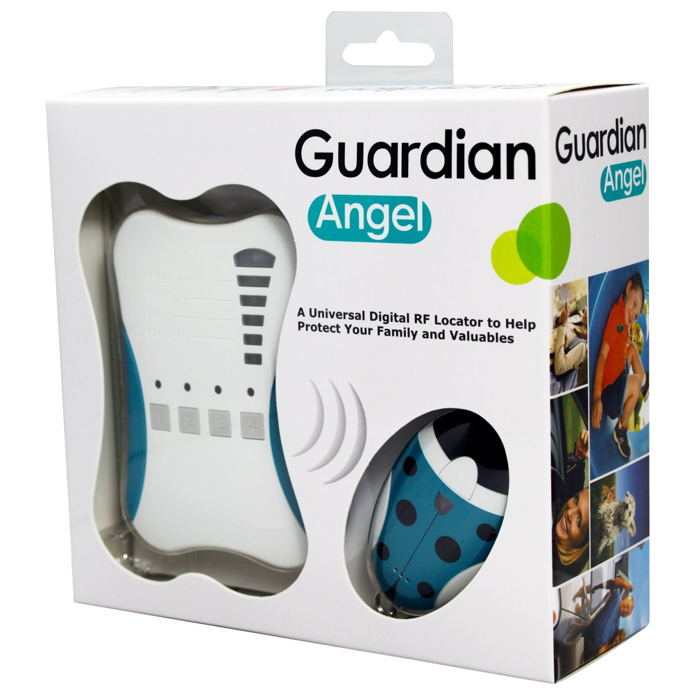 Ardi 2.4GHz Digital RF Guardian Angel, 807G2, 1 Base Unit & 2 Tag Units. Kid Tracker/Smart Direction & Distance Indicator/500M Effective Distance/Proximity Alarm Function/Mute Mode. Made in Taiwan by TrackerONE (Image #1)